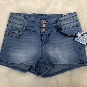 Blue Spice High Waist Jeans Short Denim  Size 3
